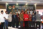 Pesan LDII untuk Calon Wali Kota dan Wakil Wali Kota Balikpapan