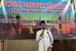 SHOLAT SUBUH BERJAMAAH BERSAMA WALIKOTA