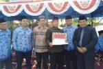 PAC LDII Sukaluyu, Bandung Hadiri Upacara HUT RI ke 74 & Terima Penghargaan Dari Camat