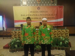 Utusan DPD LDII Sragen Muhammad Aziz,S.Pd (Bidang Pemuda Olahraga & Seni) & Mahmud Anna, ST (Sekretaris 2 DPD LDII), Solo, 6 Oktober 2016